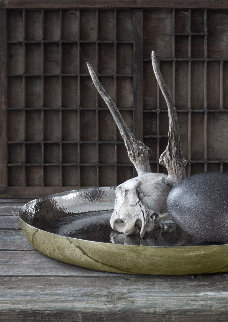 Hammerstroked tray by Lisbeth Dahl Copenhagen. Spring/Summer 2014. #LisbethDahlCph #dustandsparkle #hammerstroked #tray