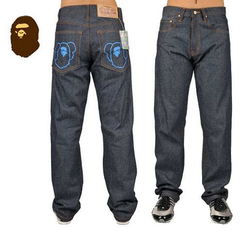 $80.00  $38.00  Save: 53% off Fake Popular Bape Jean 0001