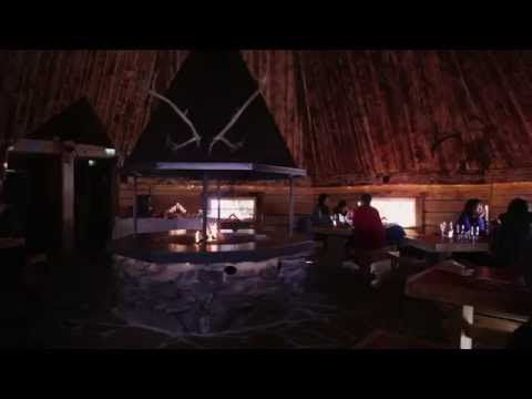 Lapland Restaurant Kotahovi in Santa Claus Village in Rovaniemi Finland - Santa Claus Reindeer - YouTube