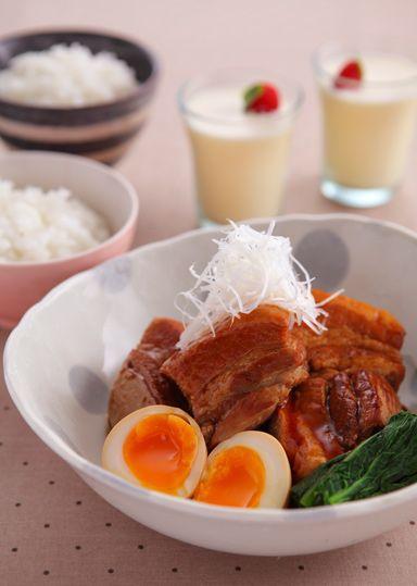 豚の角煮 味しみたまご添え のレシピ・作り方 │ABCクッキングスタジオのレシピ | 料理教室・スクールならABCクッキングスタジオ
