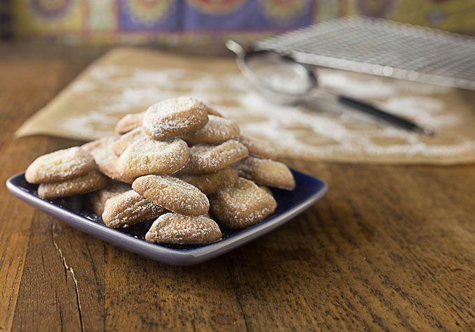 Polvorones de Limón: Spanish Lime Shortbread Cookies - Analida's Ethnic Spoon