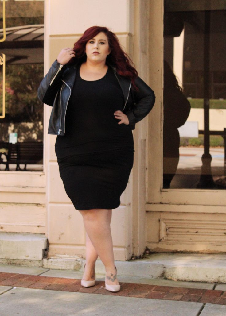 The Best Plus Size Designer Leather Jacket | Curves, Curls and Clothes
