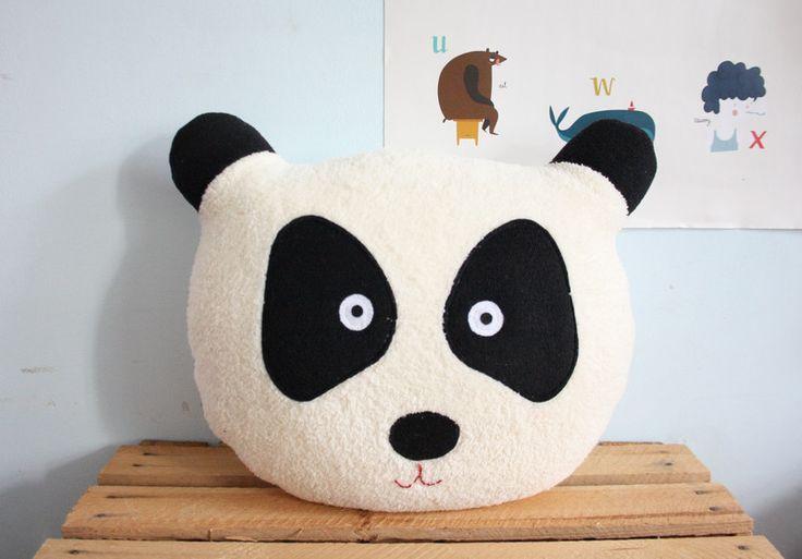 Poduszka panda . - Karmelki-by-Ania - Poduszki dla dzieci