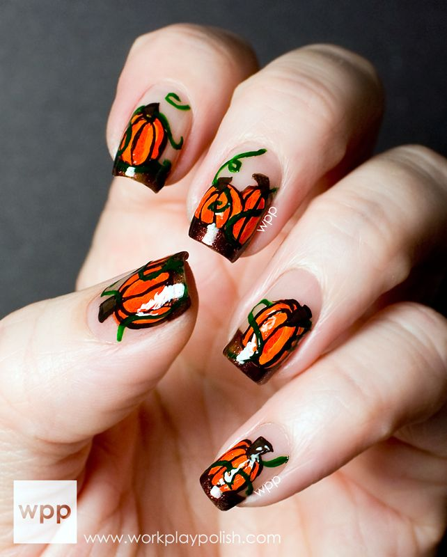 Halloween Nail Polish Designs: Digit-al Dozen Does It AGAIN: Halloween