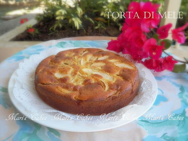 Apple Cake, Torta di Mele | Mari's Cakes (English)