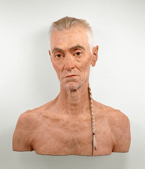 You are looking at the carefully crafted sculptures of South African born, Toronto-based sculptor Evan Penny