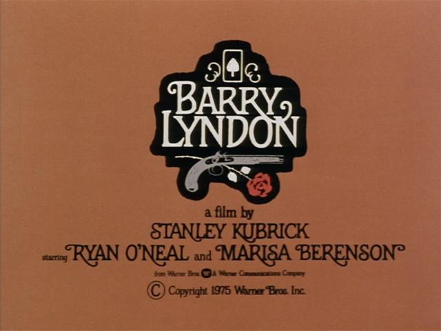 Barry Lyndon (1975) movie title