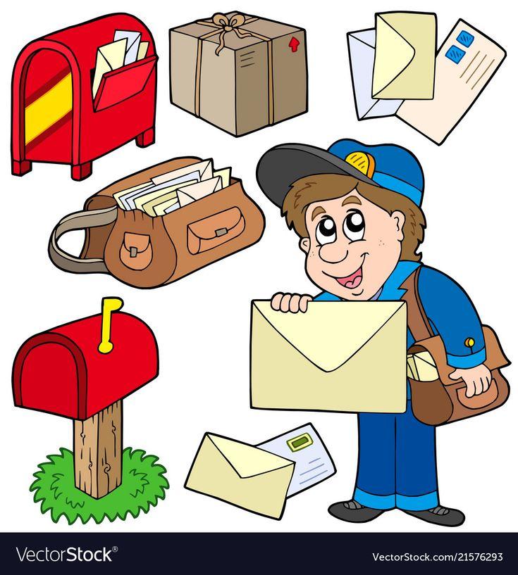 Картинки про почту для детей