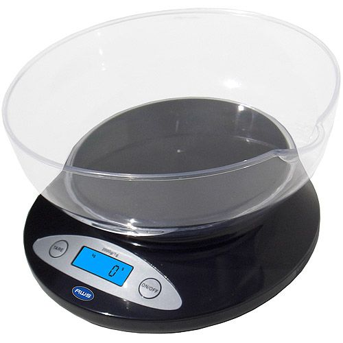 The American Weigh Bowl Kitchen Scale makes the perfect kitchen pal. Its durable and user friendly design makes everyday kitchen measuring quick and very easy. The backlit LCD display helps make the numbers viewable and easy to read. This scale offers diversity with functionality. Use the bowl to weigh your ingredients or remove the bowl and place your items directly on the weighing surface. Need more surface? Take it one more step further. Using *** Read more reviews of the product by…