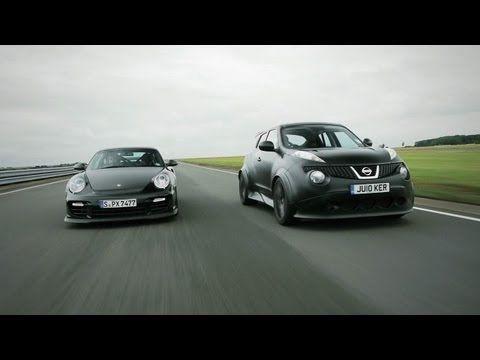 Nissan Juke-R vs. Porsche 911 GT2 RS [CAR and DRIVER]