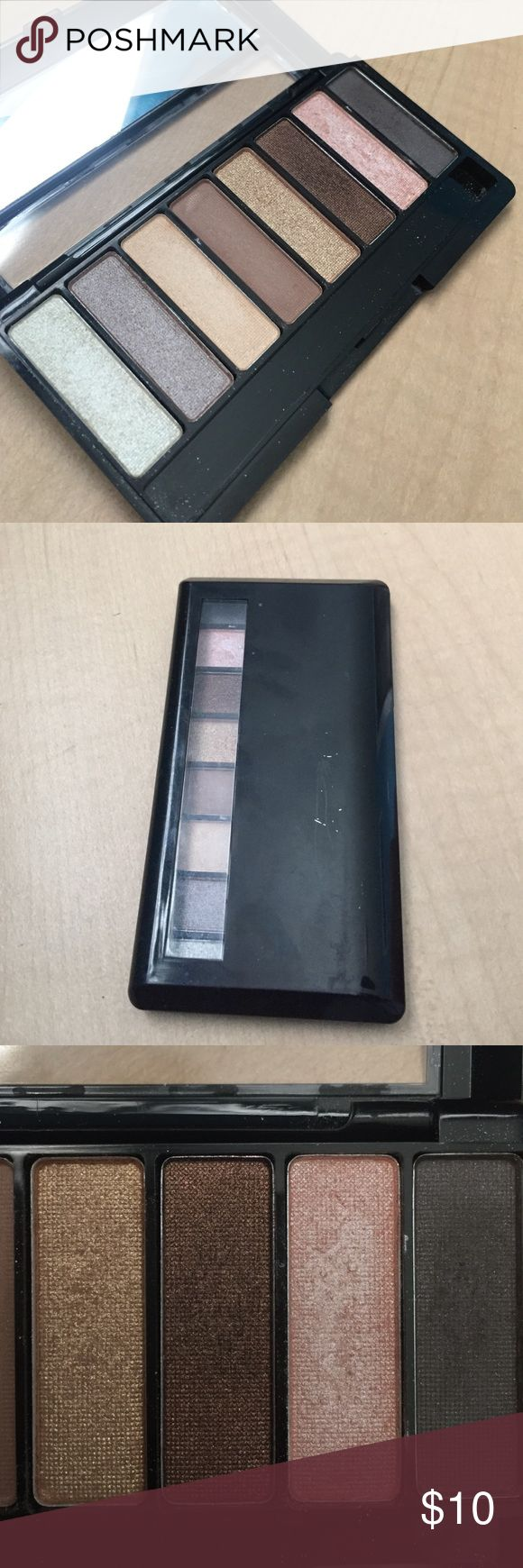 Nudes Eyeshadow Palette small, easy travel 8 eyeshadow palette. very compact. only used to swatch and the color used the most is the pink but it's still very good. *NOT URBAN DECAY* just there to get it seen. original brand is Avon. Urban Decay Makeup Eyeshadow