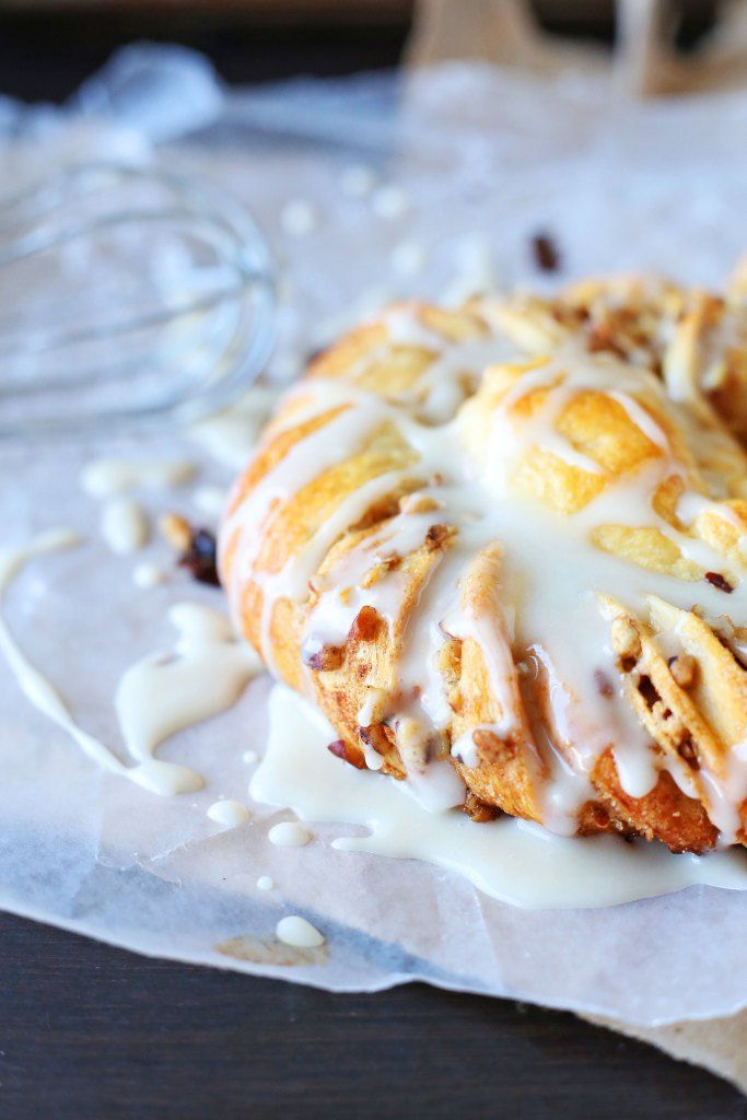 Pecan Braid Recipe made with puff pastry dough by Pillsbury Crescent Roll Dough. This recipe is perfect for breakfast or brunch. Try this awesome breakfast recipe today.