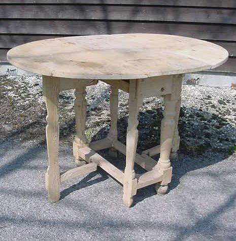 pine gateleg tablerare dutch split bannister pine gateleg table having original iron ware