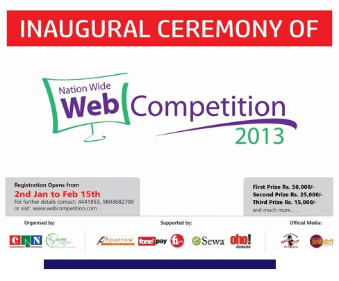 Nation wide web competition