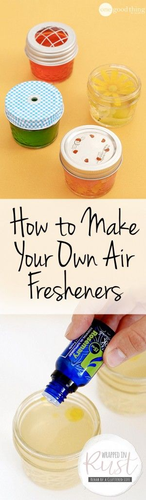 How to Make Your Own Air Fresheners