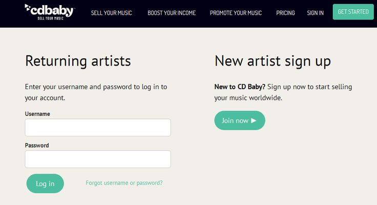 Video demonstration and instructions on how to use the CD Baby Artist Login.