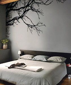 """Amazon.com: Stickerbrand Vinyl Wall Decal Sticker Tree Top Branches (M) 100"""" W X 44"""" H: Everything Else"""
