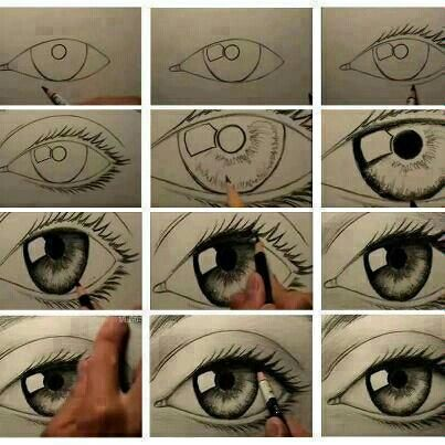 9 best drawing tips images on pinterest how to draw an eye perfectly ccuart Choice Image