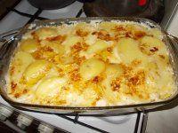 Kuracinka so zemiakmi