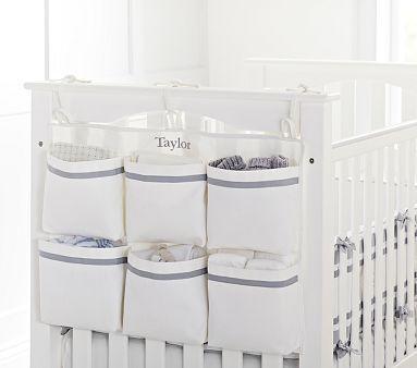Harper End of Crib Storage #pbkids