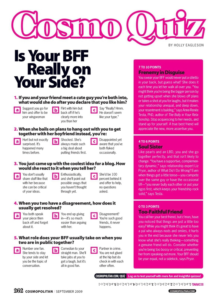 17 Best Images About Cosmo Quizzes On Pinterest September December And Quizes