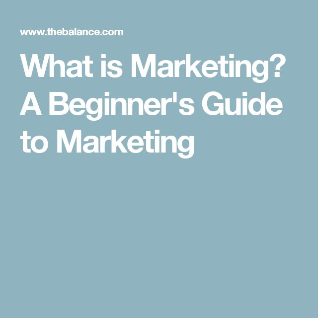 What is Marketing? A Beginner's Guide to Marketing