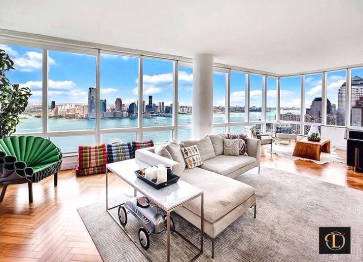 If you had a living room with a view like this, what would your weekends be like?  | Location: New York | Listing: https://www.properbuz.com/view-details?property-id=battery-park-city-new-york-usa~68418   #properbuz #dreamhome #Newyorkcityrealestate #Newyork #Newyorkcity   #manhattan #CentralPark #TimeSquare #RealEstate  #realtor #houseforsale #realestate #freelisting #milliondollarlisting #luxuryhome  #home  #homedesign #interiordesign