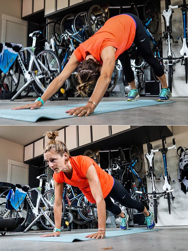 Ironman Triathlon Competitor Linsey Corbin Shares Her Spin on the Pushup - SELF