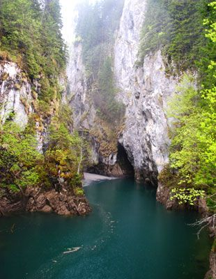 The Orzei Gorge, Bucegi, Romania