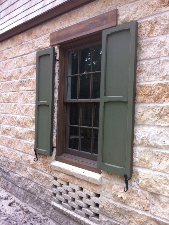 Exterior shutter style split level remodel pinterest for Shutter styles