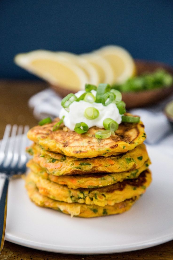 My love for potato pancakes knows no bounds, but sometimes I'm looking for something with a little more color and personality. Move over, potatoes — these savory vegetable pancakes make an even better (and healthier) treat.