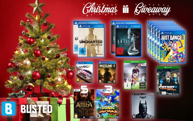 Χριστουγεννιάτικο Busted Giveaway | 23 Παιχνίδια για PS4, Xbox One, PS3 και PC! - http://www.saveandwin.gr/diagonismoi-sw/xristougenniatiko-busted-giveaway-23-paixnidia-gia-ps4-xbox-one-ps3-kai/