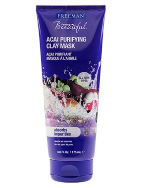 Acai Purifying Clay Mask from Freeman | Find more cruelty-free beauty @Quirkist |