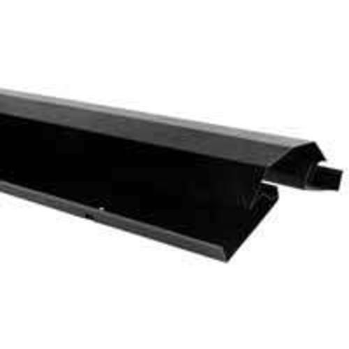 Lomanco LPR-10 Metal Ridge Vent 10', Black