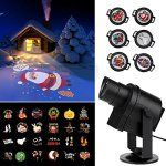 CRATO 2017 projector lamp outdoor and indoor Deco Halloween Spot led multicolored scene Christmas color DIY Gobos personalized for wedding…
