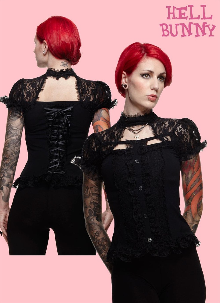 Hell Bunny Lace Top
