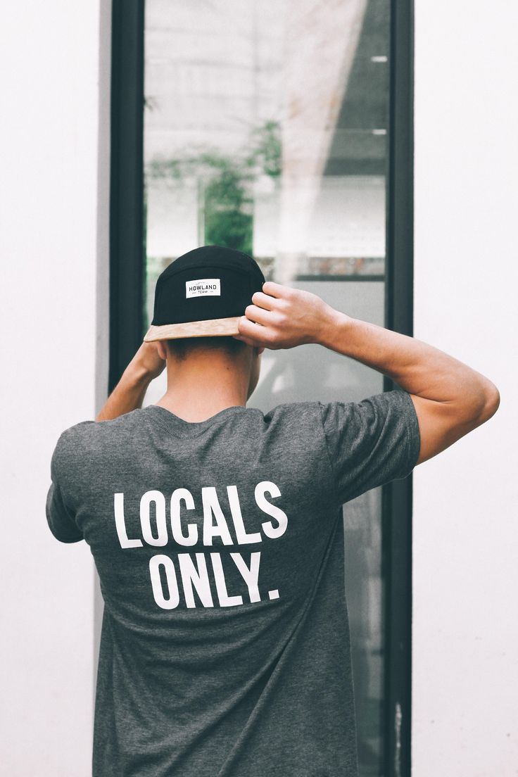 Culture: I do tend to like to wear 'surf typical' clothes however don't do this intentionally. However, this T-shirt displays the words 'locals only' and I do not believe in localism (claiming a surf area of spot), most of the time anyway..