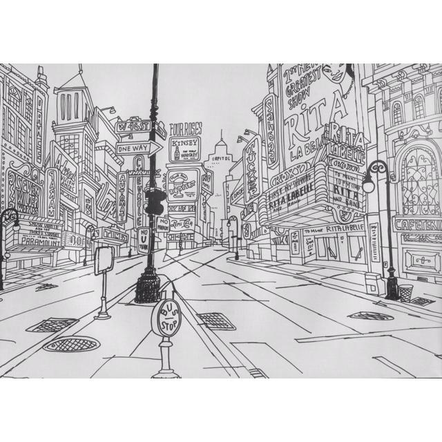 Javier Mariscal drawing