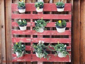 pallet garden @redoux