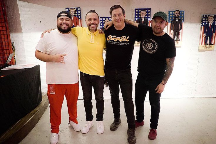 """417 Likes, 16 Comments - Blue October (@blueoctoberband) on Instagram: """"I miss these boys. When I say the words team I can't be more grateful. It seems like everyone I…"""""""