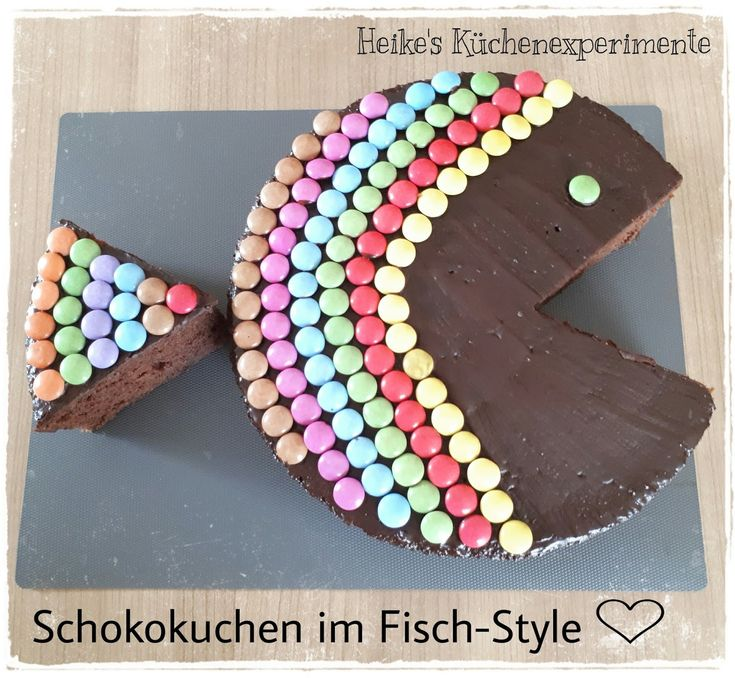 Sanella Geburtstagskuchen: Heike's Küchenexperimente ☆: Schokokuchen Im Fisch