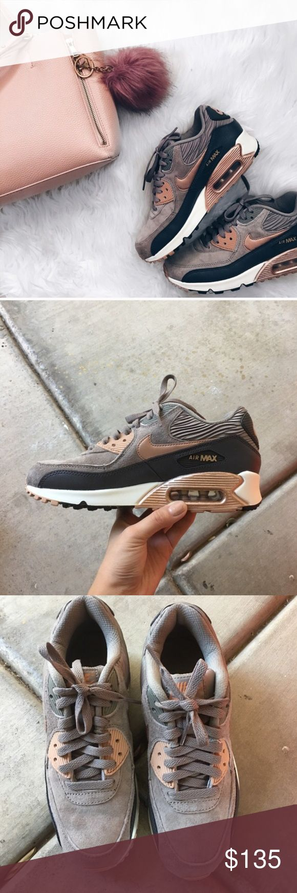 OFFER MEWomen's Nike Air Max 90 Bronze Brand new with the box but no lid. Sold Out Shoe Nike Shoes Athletic Shoes
