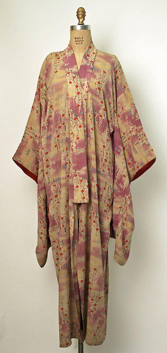 Kimono  Date: early 20th century Culture: Japanese Medium: silk