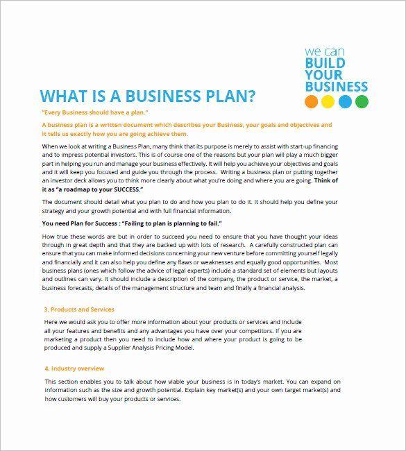 Sba Business Plan Template Elegant Small Business Plan Template 18 Word Excel Pdf Free Business Plan Simple Business Plan Template Business Plan Template Free