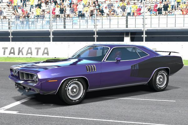 71 Barracuda 440 Six Pack Purple - #GolfClub