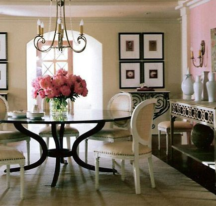 Round Dining Table Style Could Be Dressed Up Or Down