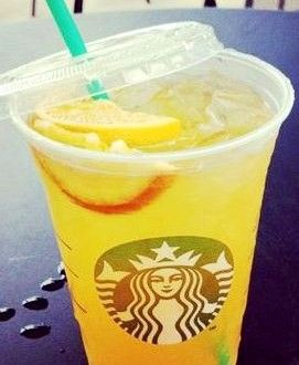 Starbucks Secret Menu: Peach Ring Tea | Starbucks Secret Menu