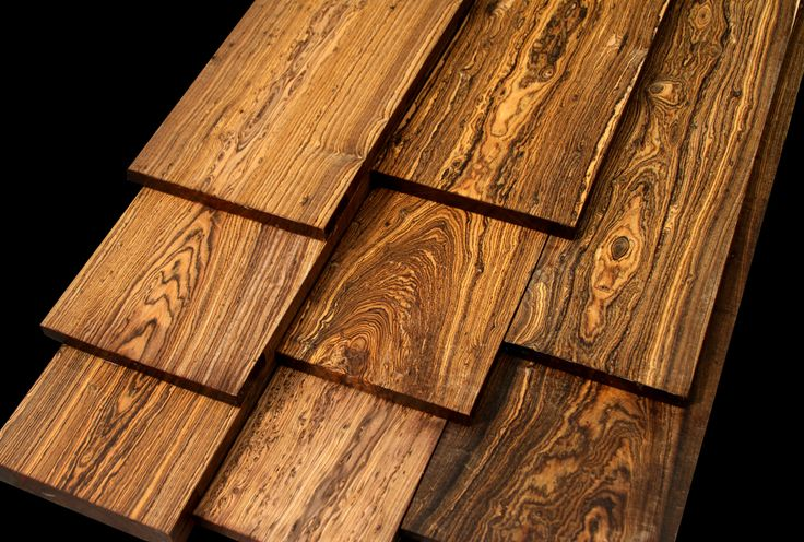 Exotic wood super sized premium bocote cordia - Most expensive type of wood ...