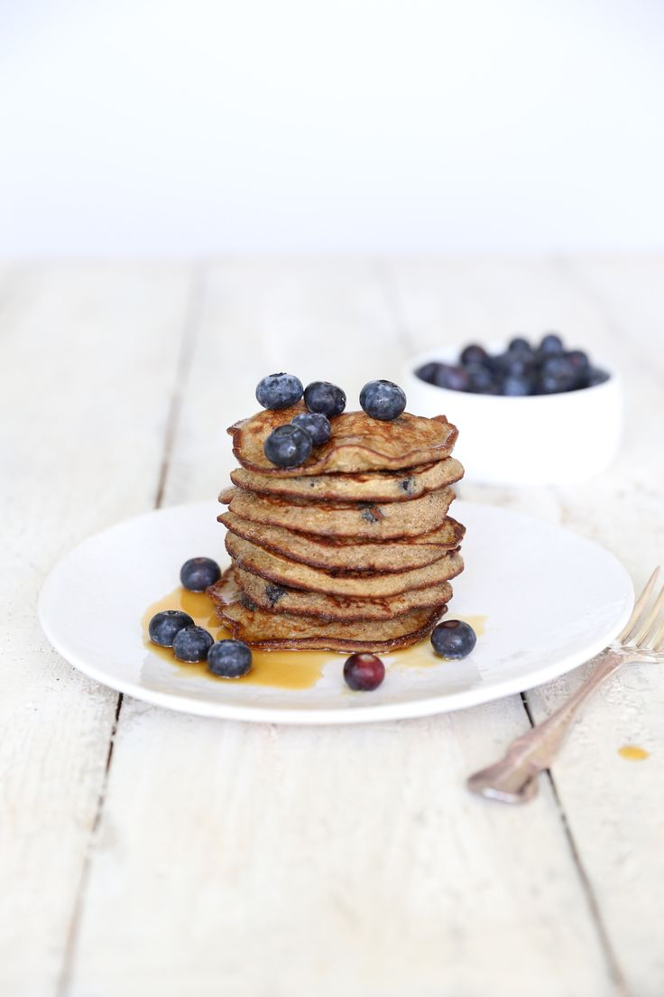 These amazing banana & blueberry buckwheat pancakes are sweetened only with banana, have a lovely light texture and are high in protein and antioxidants...