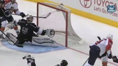 "Jonathan Quick Makes Unreal Glove Save On Tomas Fleischmann (Video)""..THIS IS SOOO COOL!"